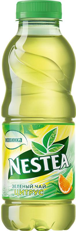 Nestea Цитрус зеленый чай, 0,5 л