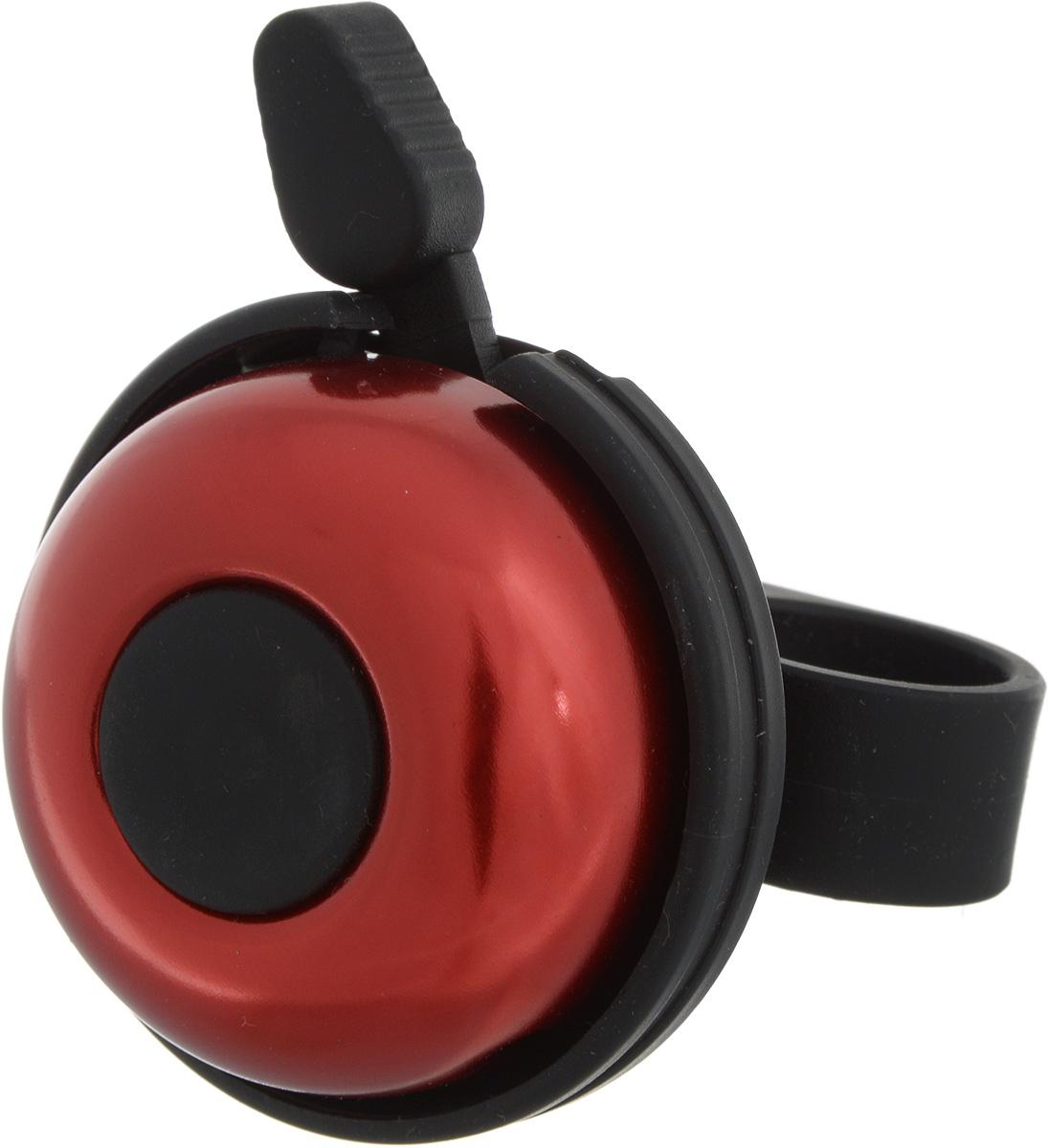 Звонок велосипедный Stern, цвет: красныйCR-1R.Звонок Stern изготовлен из металла и пластика. Изделие крепится на руль велосипеда и позволяет привлечь внимание в опасных ситуациях. Оригинальный звонок сделает вашу езду безопасной. Диаметр звонка: 5 см.