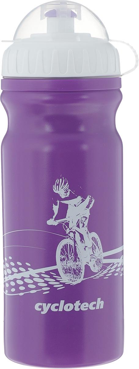 Фляга велосипедная Cyclotech, цвет: фиолетовый, 700 млCBOT-1VIВелосипедная фляга Cyclotech изготовлена из высококачественного полиэтилена высокого давления. Изделие без труда устанавливается на велосипед (держатель для фляги приобретается отдельно). Благодаря клапану с сильной струей можно делать большие глотки, а за счет большой винтовой крышки флягу легко наполнить водой. Высота фляги: 23 см.