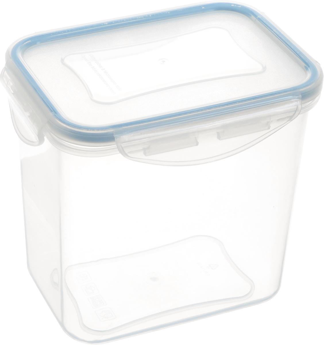 Контейнер Tescoma Freshbox, прямоугольный, 0,9 л892074Контейнер Tescoma Freshbox изготовлен из высококачественного пластика. Изделие идеально подходит не только для хранения, но и для транспортировки пищи. Контейнер имеет крышку, которая плотно закрывается на 4 защелки и оснащена специальной силиконовой прослойкой, предотвращающей проникновение влаги и запахов. Изделие подходит для домашнего использования, для пикников, поездок, отдыха на природе, его можно взять с собой на работу или учебу. Можно использовать в СВЧ-печах, холодильниках и морозильных камерах. Можно мыть в посудомоечной машине. Размер контейнера (без учета крышки): 12,5 х 9 см. Высота контейнера (без учета крышки): 12 см.