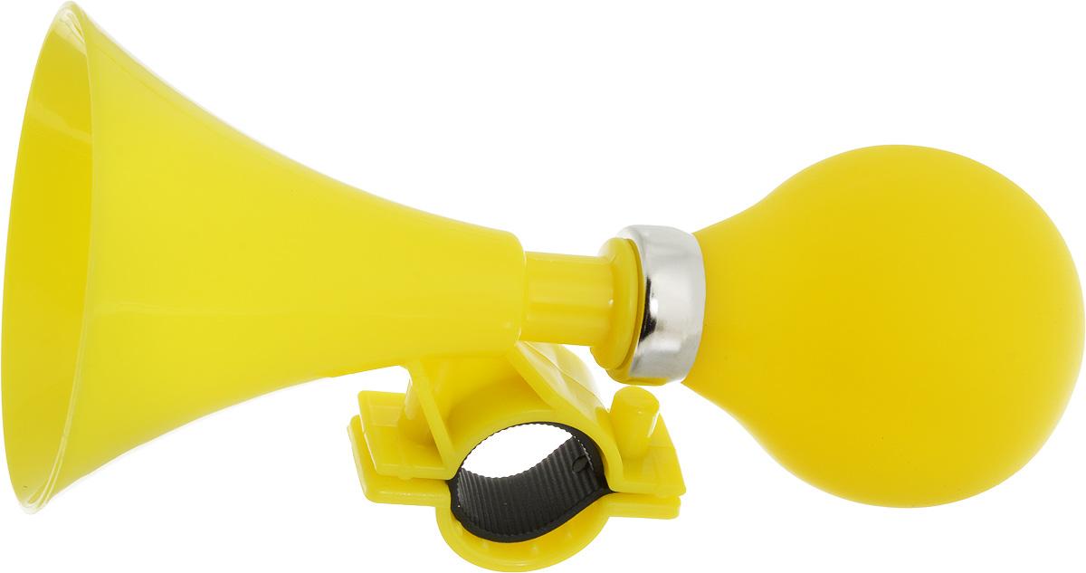 Гудок велосипедный Stern, цвет: желтыйCRH-1YN.Гудок Stern, изготовленный из высококачественных материалов, выполнен в виде клаксона. Изделие крепится на руль велосипеда и позволяет привлечь внимание в опасных ситуациях. Оригинальный гудок сделает вашу езду безопасной.