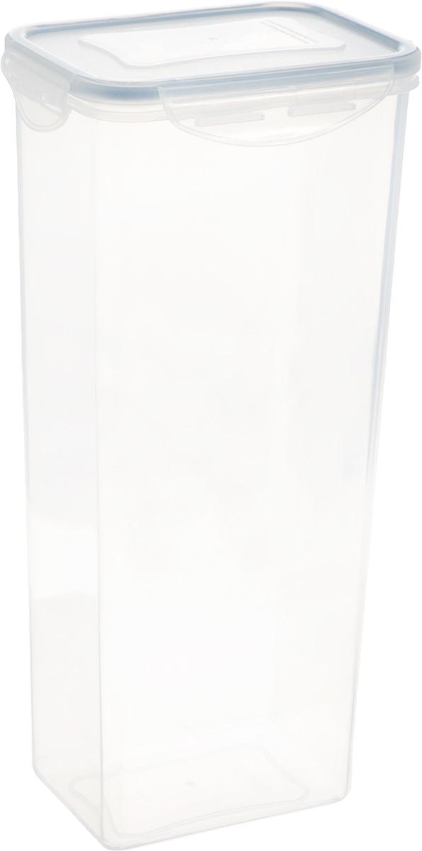 Контейнер Tescoma Freshbox, прямоугольный, 2 л892078Высокий контейнер Tescoma Freshbox изготовлен из высококачественного пластика. Изделие идеально подходит для хранения продуктов, так как оснащено герметичной крышкой с силиконовой прослойкой, которая предотвратит проникновение влаги и запахов. Крышка плотно закрывается на 4 защелки. Можно использовать в СВЧ-печах, холодильниках и морозильных камерах. Можно мыть в посудомоечной машине. Размер контейнера (без учета крышки): 12,5 х 9 см. Высота контейнера (без учета крышки): 27,5 см.