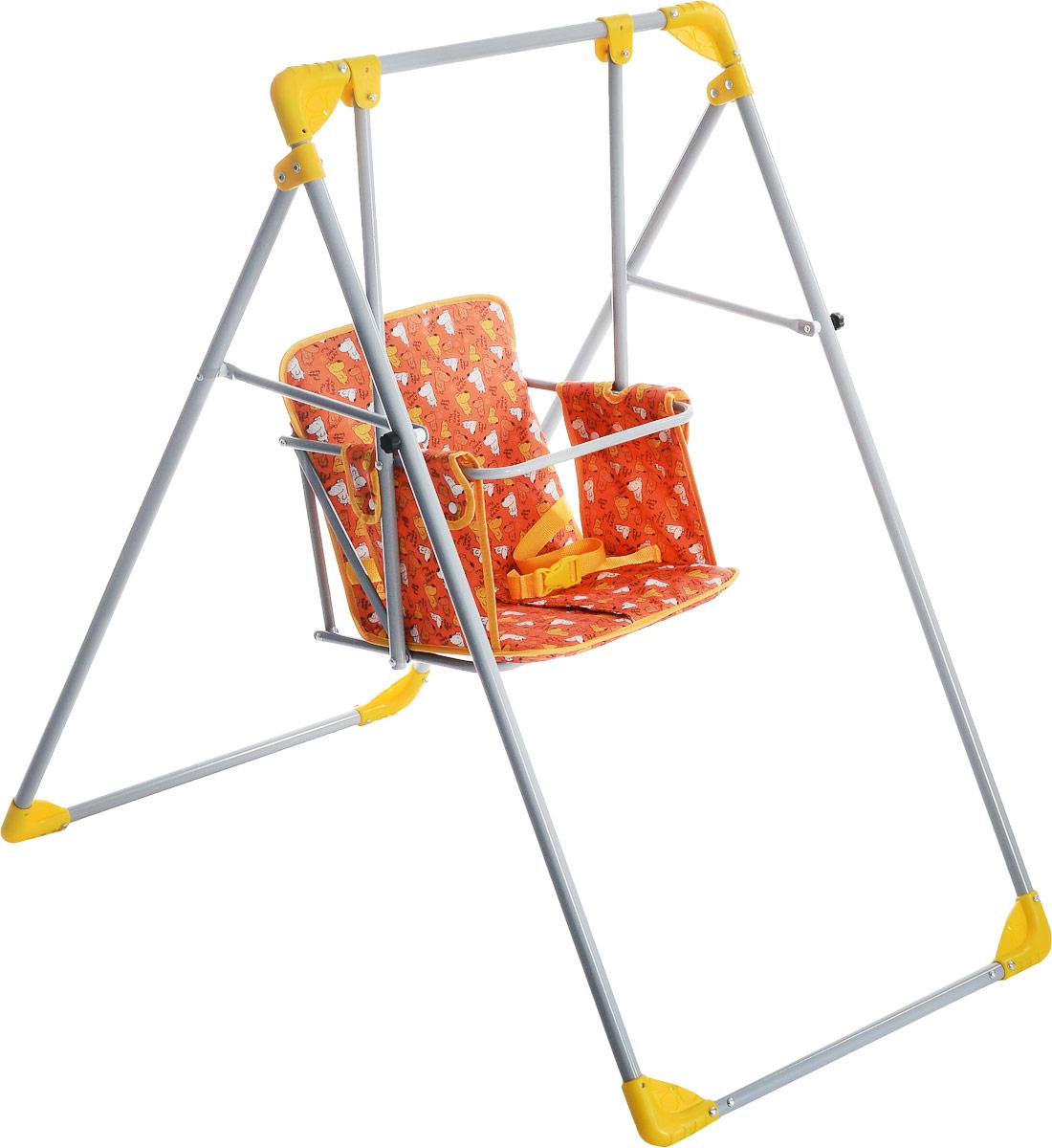 Фея Качели Чарли цвет оранжевый желтый серый 0004238-10_оранжевый, желтый, серый