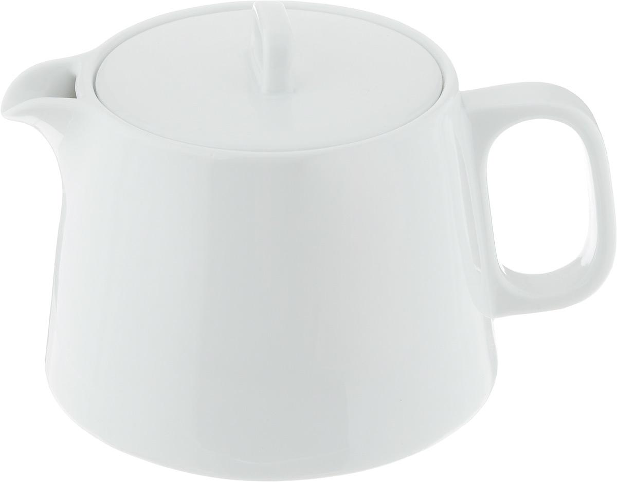 Чайник заварочный Tescoma Gustito, 1,2 л386490Заварочный чайник Tescoma Gustito изготовлен из высококачественного фарфора. Глазурованное покрытие обеспечивает легкую очистку. Изделие прекрасно подходит для заваривания вкусного и ароматного чая, а также травяных настоев. Оригинальный дизайн сделает чайник настоящим украшением стола. Он удобен в использовании и понравится каждому. Можно мыть в посудомоечной машине и использовать в микроволновой печи. Диаметр чайника (по верхнему краю): 9,5 см. Высота чайника (без учета крышки): 11 см.