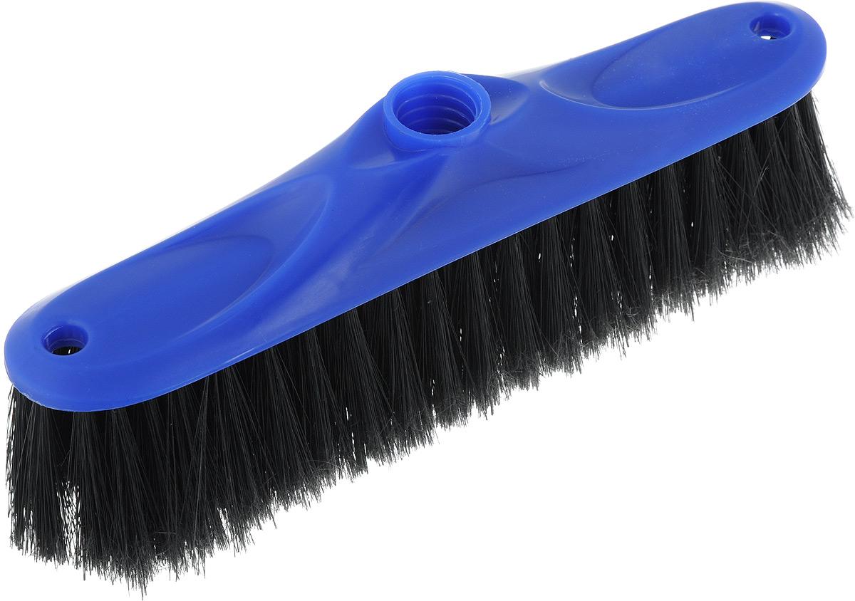 Щетка для пола Svip Аделия, цвет: синий, черный, без ручки, 24 х 4,5 х 8,5 смSV3110СНЩетка для пола Svip Аделия изготовлена из пластика. Распушенная щетина из полипропилена более эффективно притягивается пыль и мусор, не оставляю царапин на поверхностях. Может использоваться как в домашних, так и промышленных целях. Щетка долговечна и устойчива к погодному воздействию. Универсальная резьба подходит ко всем видам ручек. Щетка станет незаменимым помощником по хозяйству. Размер щетки: 24 х 4,5 см. Длина ворса: 5,5 см. Диаметр резьбы: 2 см.