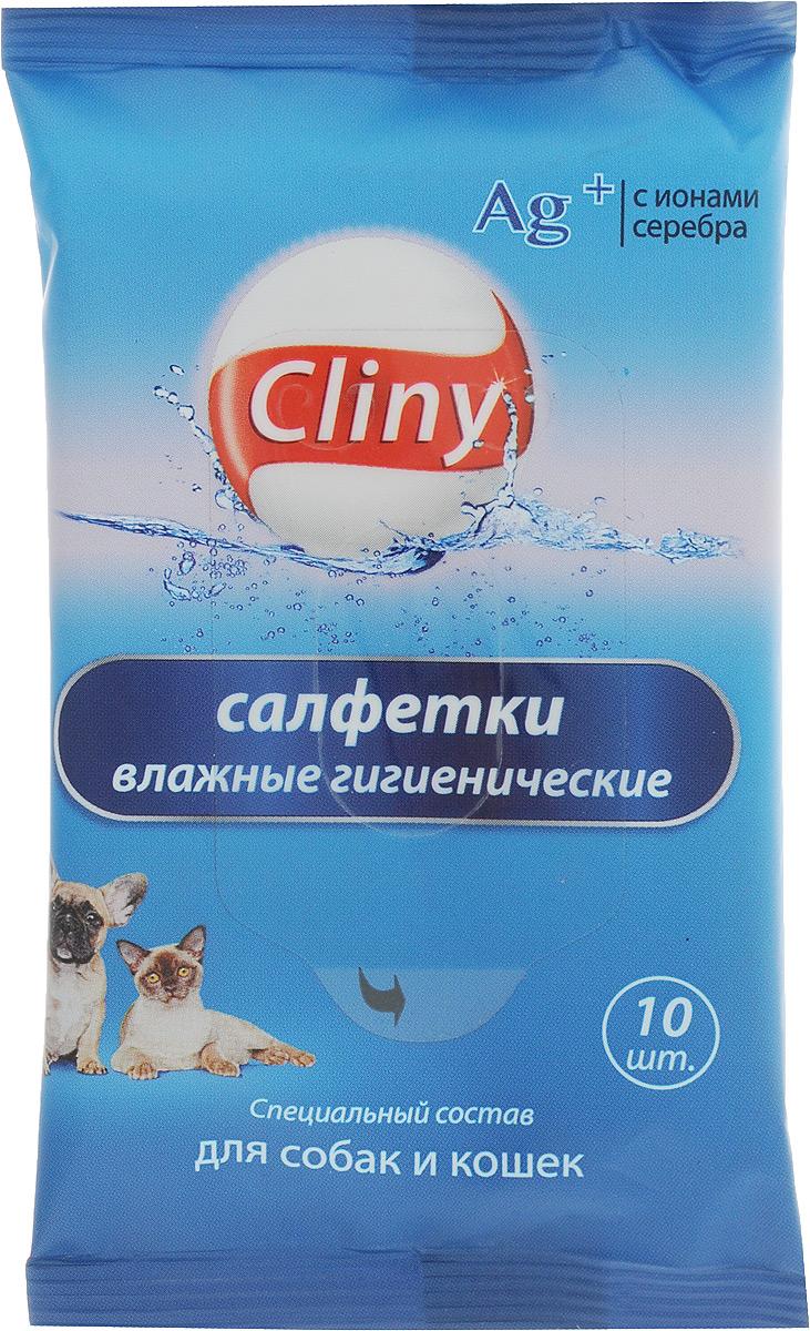 Салфетки влажные для собак и кошек