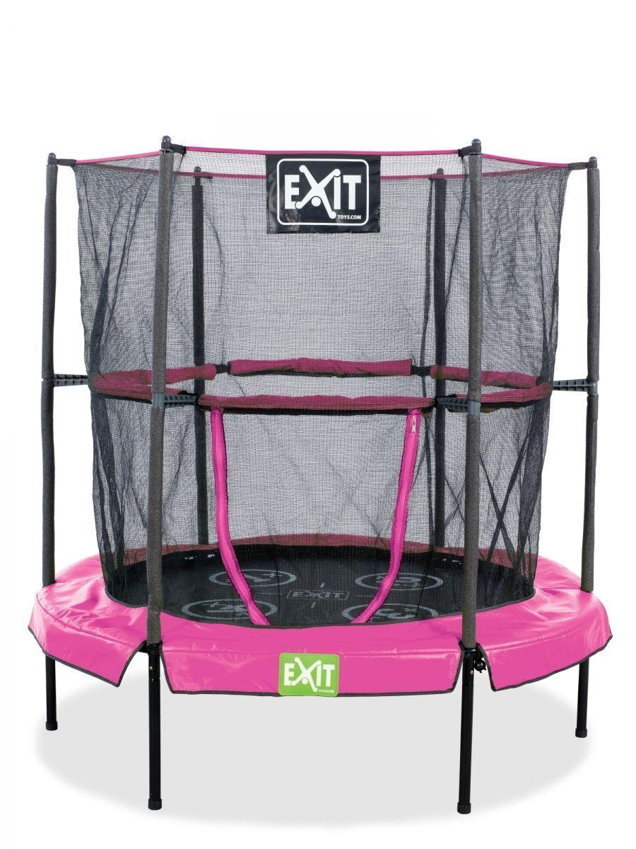 """Батут домашний """"EXIT Toys"""", цвет: розовый, 140 см"""