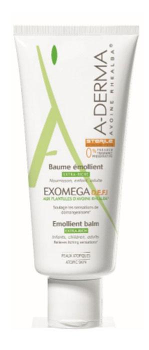 A-Derma Экзомега D.E.F.I. Смягчающий бальзам, 200 млC36908Смягчающий бальзам - это деликатное средство (эмолент) для ухода за атопичной и очень сухой кожей. Способствует снижению сухости, покраснения и раздражения атопичной и очень сухой кожи. Усиливает естественные защитные свойства кожи. Увлажняет и питает кожу, улучшая состояние кожи на длительное время. Уникальная, запатентованная технология упаковки D.E.F.I обеспечивает сохранение стерильности состава, как до вскрытия упаковки, так и на протяжении всего времени использования средства. Подходит для взрослых, подростков, детей, младенцев. Для лица и тела.