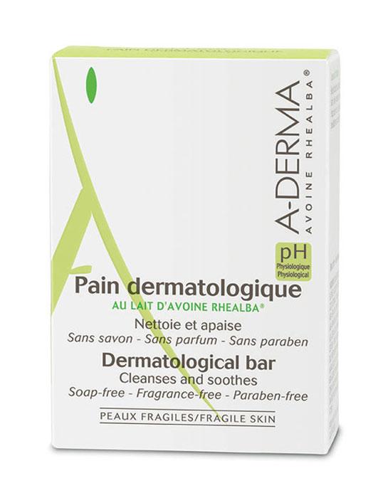 A-Derma Эссеншел Дермокосметическое мыло, 100 гC28523Мягкая формула мыла очищает, оставляя кожу увлажненной. Физиологический pH, адаптированный к потребностям хрупкой кожи, не нарушает естественный баланс и гидролипидную пленку кожи. Успокаивает и смягчает. Идеально подходит для всей семьи. «Мыло без мыла» для идеального бережного ухода. Относится к инновационном очищающим средствам - синтетический детергент (мыло без ПАВов с физиологическим ph).