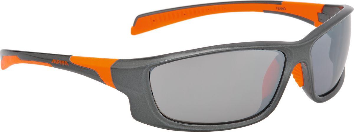 Очки солнцезащитные Alpina Fenno, цвет: оранжевый. 85293258529325Очки с линзами, устойчивыми к разбиванию. Отличное предложение по цене и качеству.