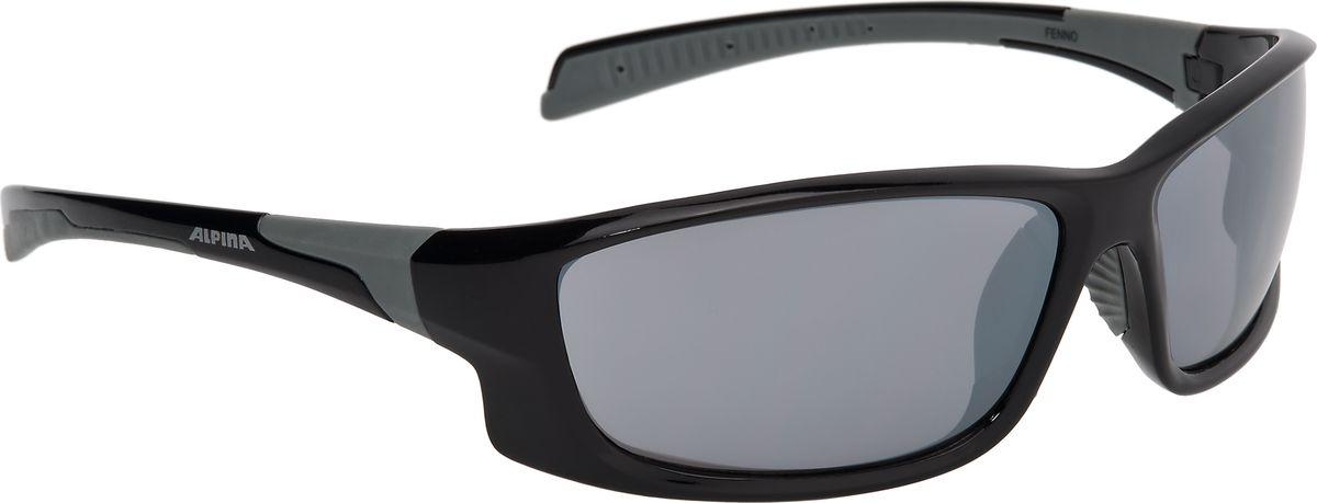 Очки солнцезащитные Alpina Fenno, цвет: черный, серый. 85293318529331Очки с линзами, устойчивыми к разбиванию. Отличное предложение по цене и качеству.