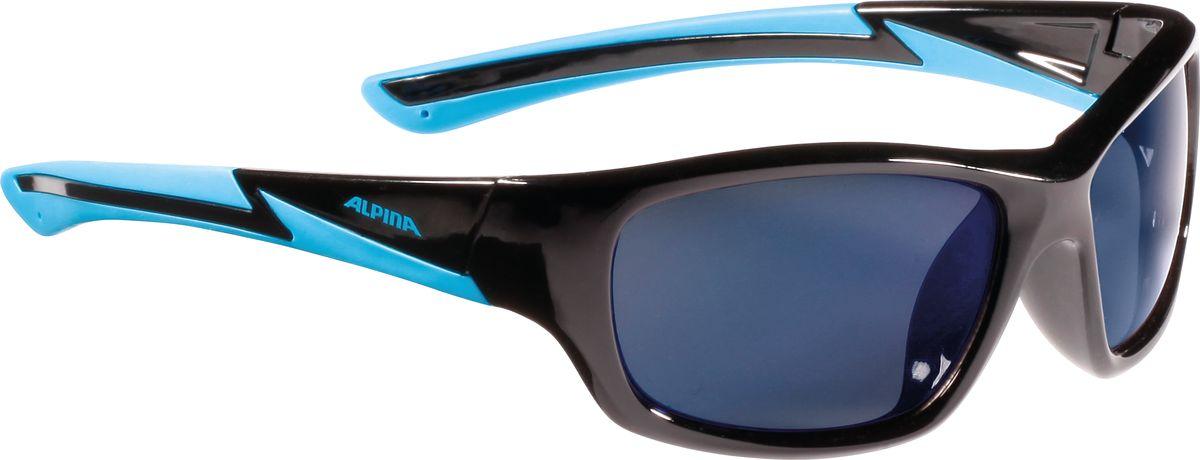 Очки солнцезащитные Alpina Flexxy Youth, цвет: черный. 85643318564331Детские очки с линзами, устойчивыми к разбиванию. Градация очков по подростковым, юниорским и детским, а также специальная модель для девочек. Технологии: Optimized airflow, 2 components design, Flexible Frame.
