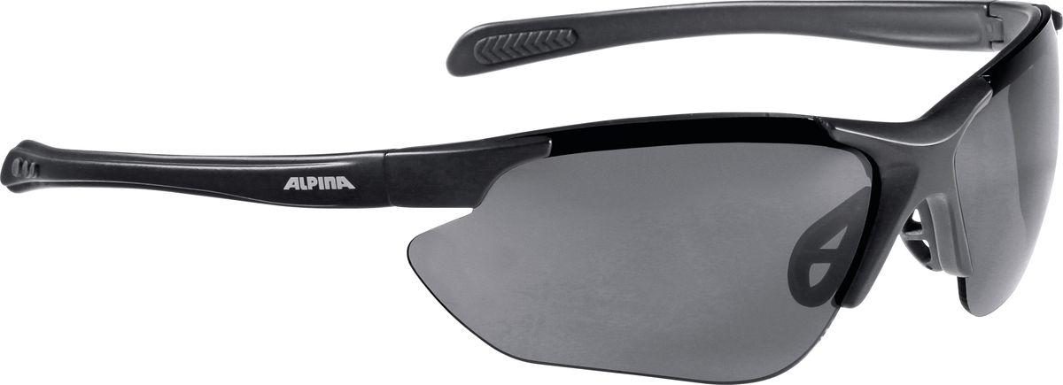 """Очки солнцезащитные Alpina """"Jalix"""", цвет: черный. 8560331"""
