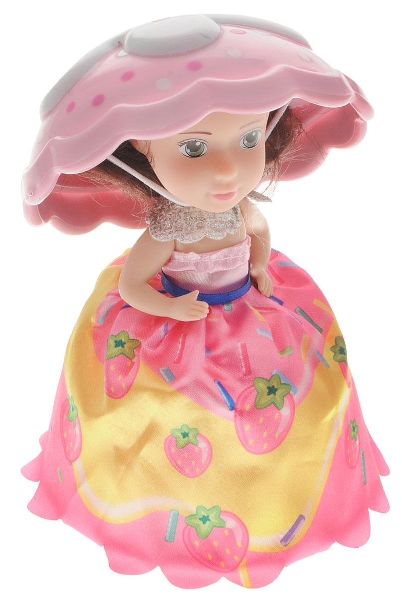 1TOY Мини-кукла Пироженка-Сюрприз цвет розовый белый