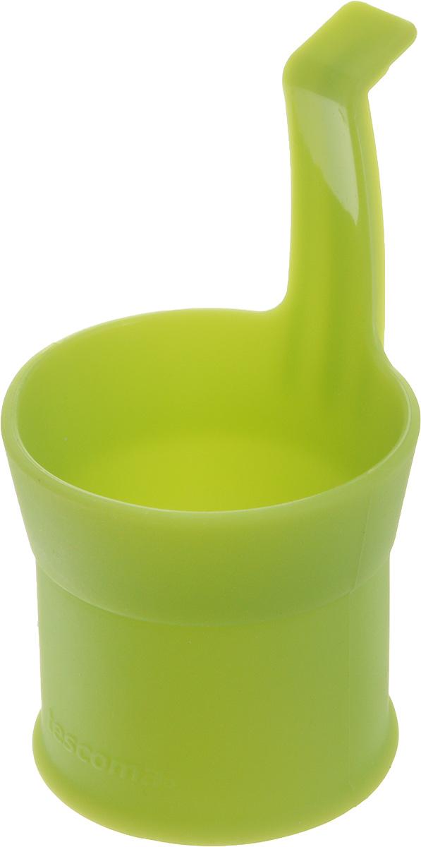 Форма для приготовления яиц-пашот Tescoma Fusion, цвет: зеленый638478Форма Tescoma Fusion выполнена из высококачественного термостойкого силикона. Изделие отлично подходит для приготовления яиц-пашот. Форма оснащена удобной ручкой. Форма выдерживает температуру от -40 до +230°C. Можно мыть в посудомоечной машине.