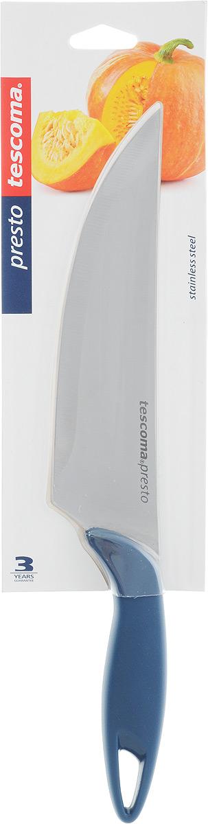 Нож кулинарный Tescoma Precioso, длина лезвия 17 см863030Кулинарный нож Tescoma Precioso идеально подходит для профессионального и домашнего использования. Лезвия выполнено из высококачественной немецкой нержавеющей стали и имеет основание в виде V-профиля. Нож оснащен эргономичной ручкой из пластика с противоскользящим покрытием. Можно мыть в посудомоечной машине. Длина лезвия: 17 см. Общая длина ножа: 31 см.