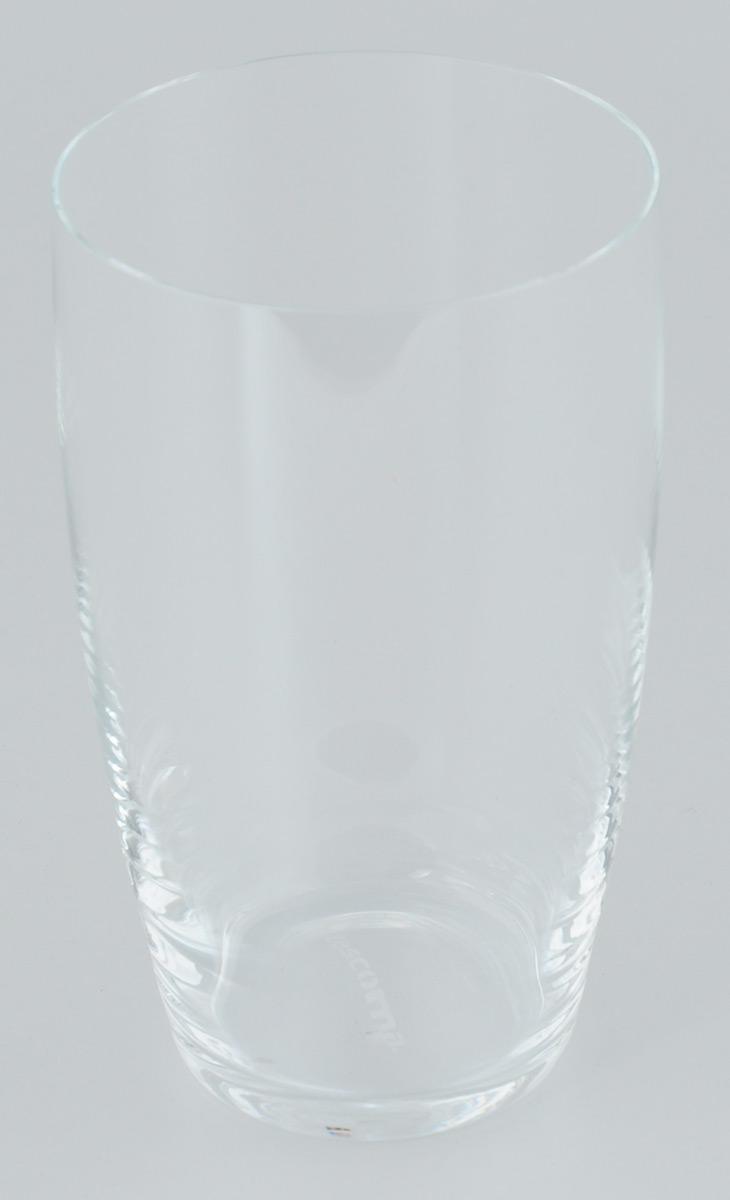 Стакан Tescoma Crema, 500 мл306255Стакан Tescoma Crema изготовлен из прочного прозрачного стекла. Такой стакан прекрасно дополнит сервировку стола и порадует вас практичностью и классическим дизайном. Изделие можно мыть в посудомоечной машине. Диаметр (по верхнему краю): 8 см. Высота: 14 см.