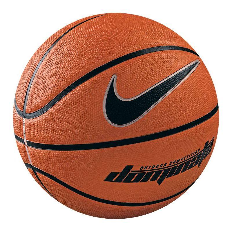 Мяч баскетбольный Nike Dominate, цвет: коричневый, черный. Размер 5BB0359-801Детский баскетбольный мяч Nike Dominate Outdoor Kids Basketball (размер 5) со специальной текстурой и глубокими канавками для превосходного контроля над мячом идеален для дворовых игр на асфальтированных площадках. Особенности: упругое резиновое покрытие со специальной текстурой для контроля над мячом и специальная оболочка для превосходного сохранения формы. Предназначен для игр на свежем воздухе.