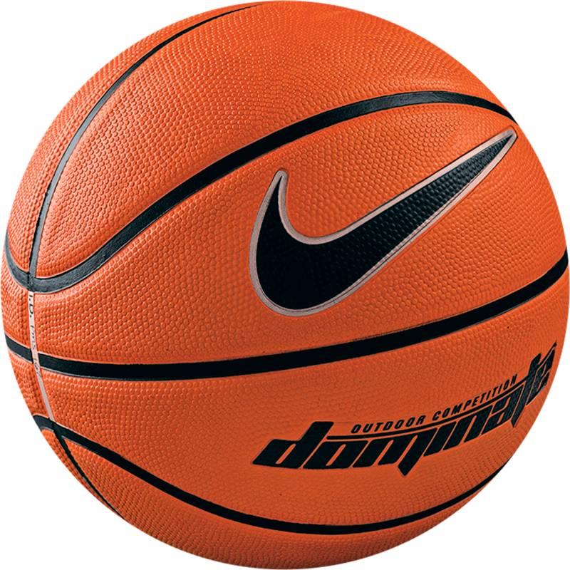 Мяч баскетбольный Nike Dominate, цвет: коричневый, черный. Размер 6BB0360-801Баскетбольный мяч Nike Dominate (размер 6), созданный специально для игр на площадке, более удобен для хвата, удержания и контроля благодаря прочной поверхности с глубокими бороздками. Мягкий на ощупь, амортизирующий резиновый внешний слой с крупнозернистой текстурой для удобного хвата.