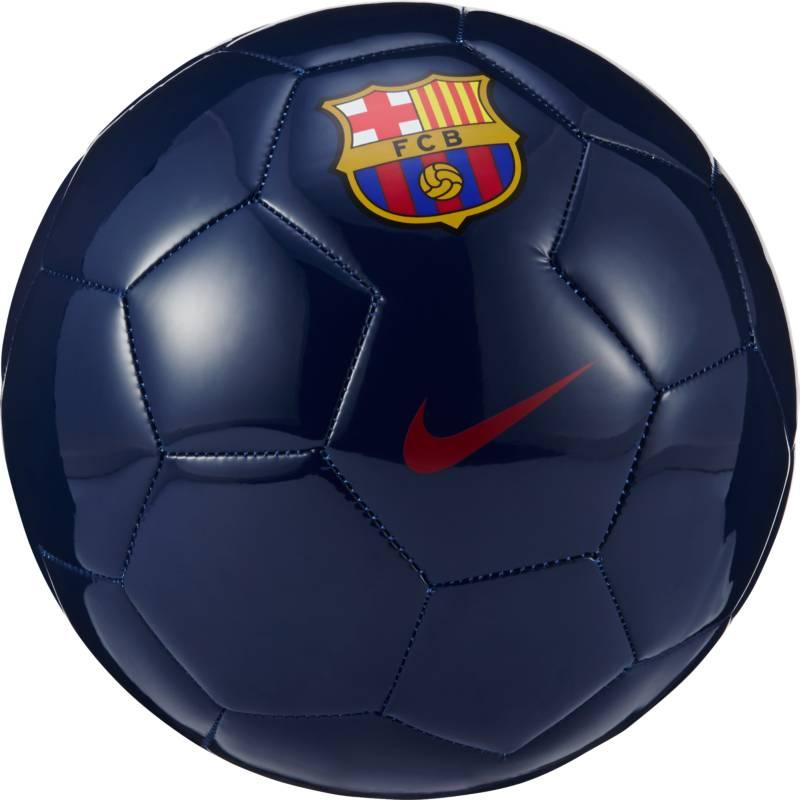 Мяч футбольный Nike Supporters Ball-FCB, цвет: синий. Размер 5SC3011-410Мяч футбольный Nike Supporters из износостойкой материала. Герметичные швы, прочная внутренняя камера, вспененный внутренний материал обеспечивает отличный отскок, точная сферическая форма.
