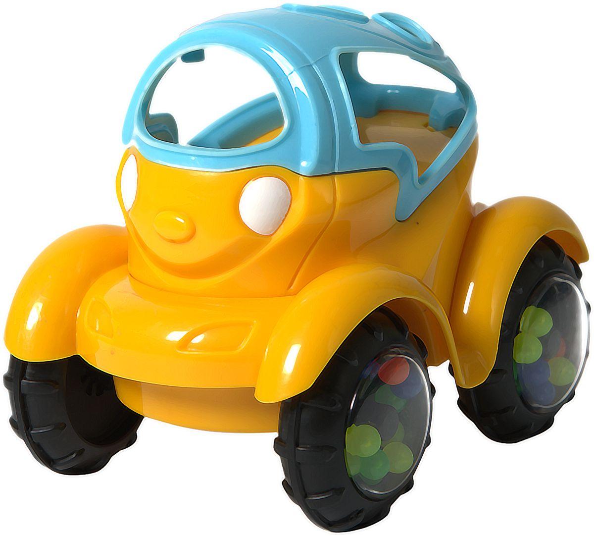 Baby Trend Машинка-неразбивайка цвет синий, желтый