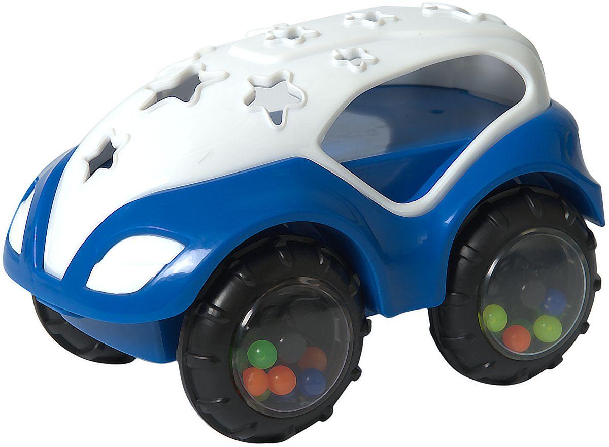 Baby Trend Машинка-неразбивайка цвет белый синий