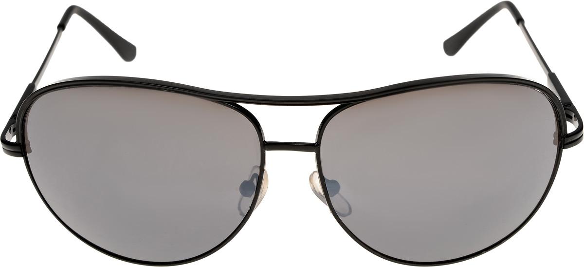Очки солнцезащитные мужские Vittorio Richi, цвет: черный. ОС80033-8/17fОС80033-8/17fОчки солнцезащитные Vittorio Richi это знаменитое итальянское качество и традиционно изысканный дизайн.