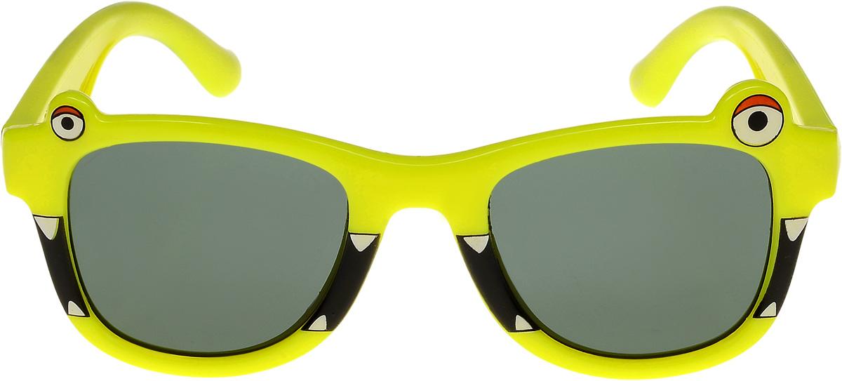 Очки солнцезащитные детские Vittorio Richi, цвет: желтый. ОСлягушки/17fОСлягушки/17fОчки солнцезащитные Vittorio Richi это знаменитое итальянское качество и традиционно изысканный дизайн.