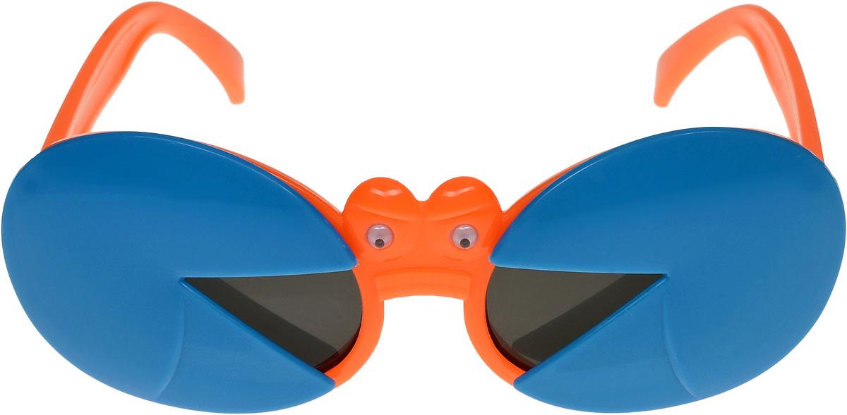 Очки солнцезащитные детские Vittorio Richi, цвет: синий, оранжевый. ОСкраб-/17fОСкраб-/17fОчки солнцезащитные Vittorio Richi это знаменитое итальянское качество и традиционно изысканный дизайн.