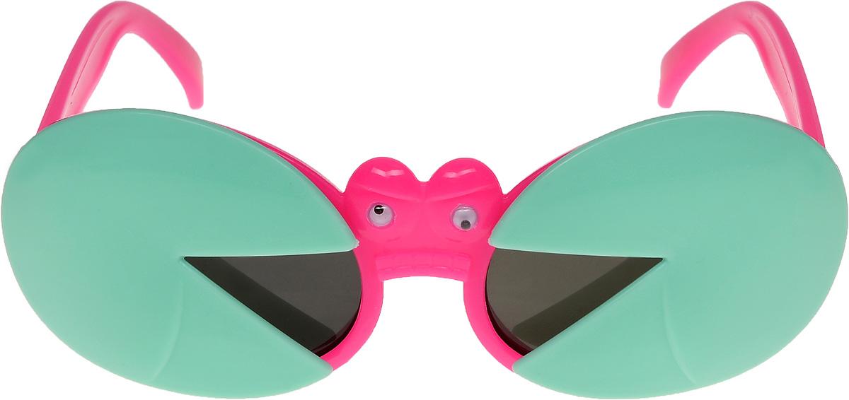 Очки солнцезащитные детские Vittorio Richi, цвет: зеленый, малиновый. ОСкраб/17fОСкраб/17fОчки солнцезащитные Vittorio Richi это знаменитое итальянское качество и традиционно изысканный дизайн.