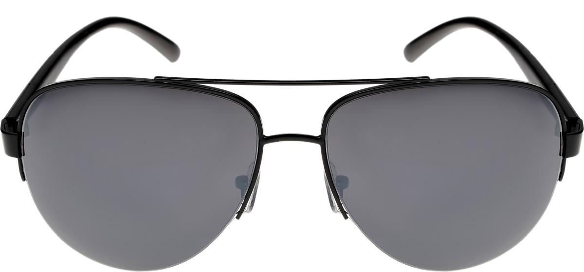Очки солнцезащитные мужские Vittorio Richi, цвет: черный. ОСA6/17fОСA6/17fОчки солнцезащитные Vittorio Richi это знаменитое итальянское качество и традиционно изысканный дизайн.
