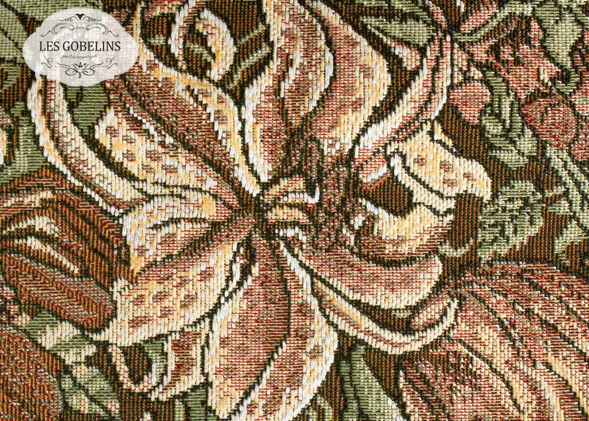 Накидка на диван Les Gobelins Art Nouveau Lily, 160х230 см. lns187172lns187172Общий размер: полутороспальный Размер покрывала: 160х230 см Размер наволочек: Без наволочек Материал: Хлопковый гобелен Длина ворса: Отсутствует Состав: 50% хлопок, 50% полиэстер Отделка: Бахрома и кисти Производитель: Les Gobelins Cтрана производства: Россия Упаковка: Полиэтиленовый пакет