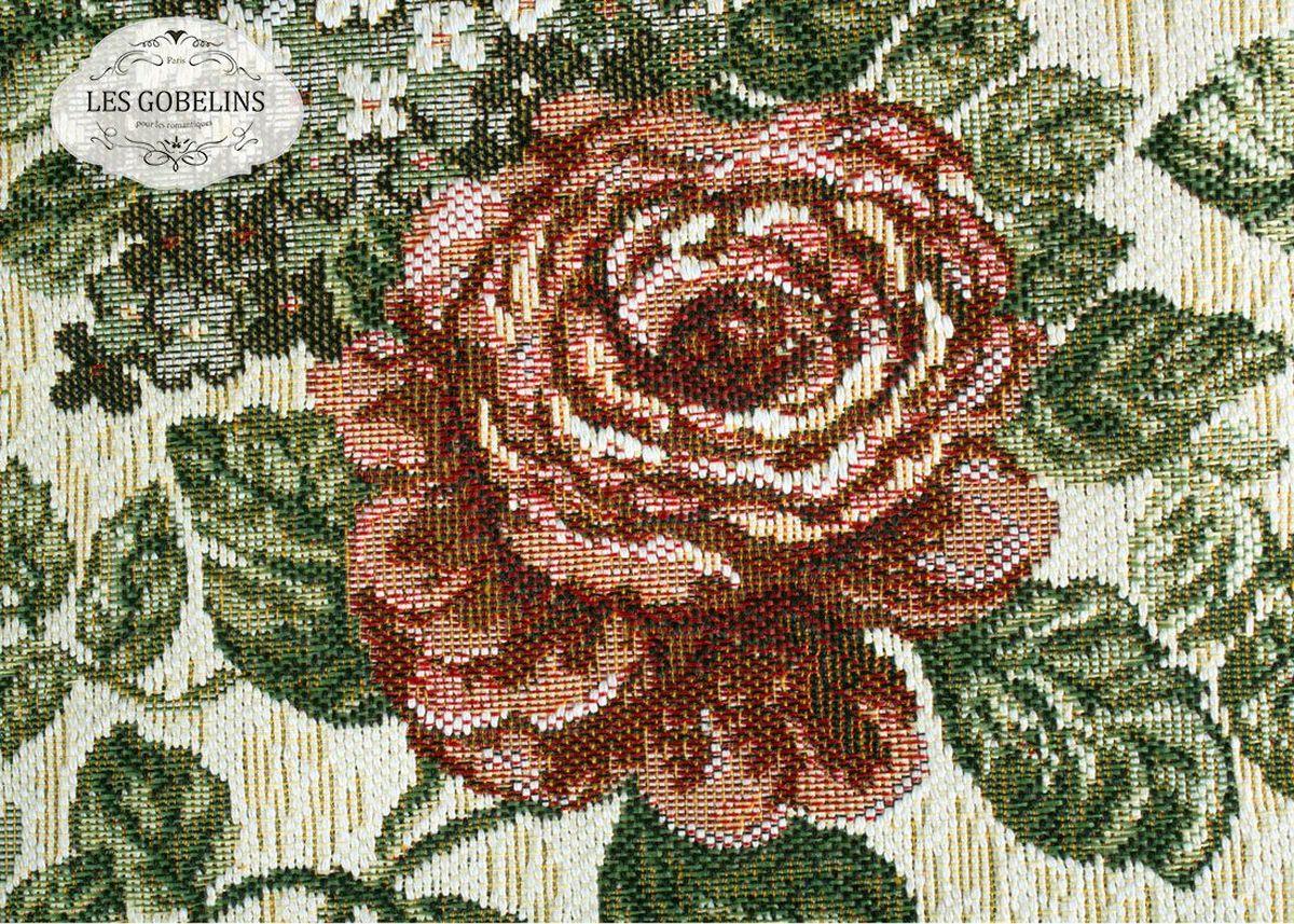 Накидка на диван Les Gobelins Art Floral, 160х200 см. lns187588lns187588Общий размер: полутороспальный Размер покрывала: 160х200 см Размер наволочек: Без наволочек Материал: Хлопковый гобелен Длина ворса: Отсутствует Состав: 52% хлопок, 48% полиэстер Отделка: Бахрома и кисти Производитель: Les Gobelins Cтрана производства: Россия Упаковка: Полиэтиленовый пакет
