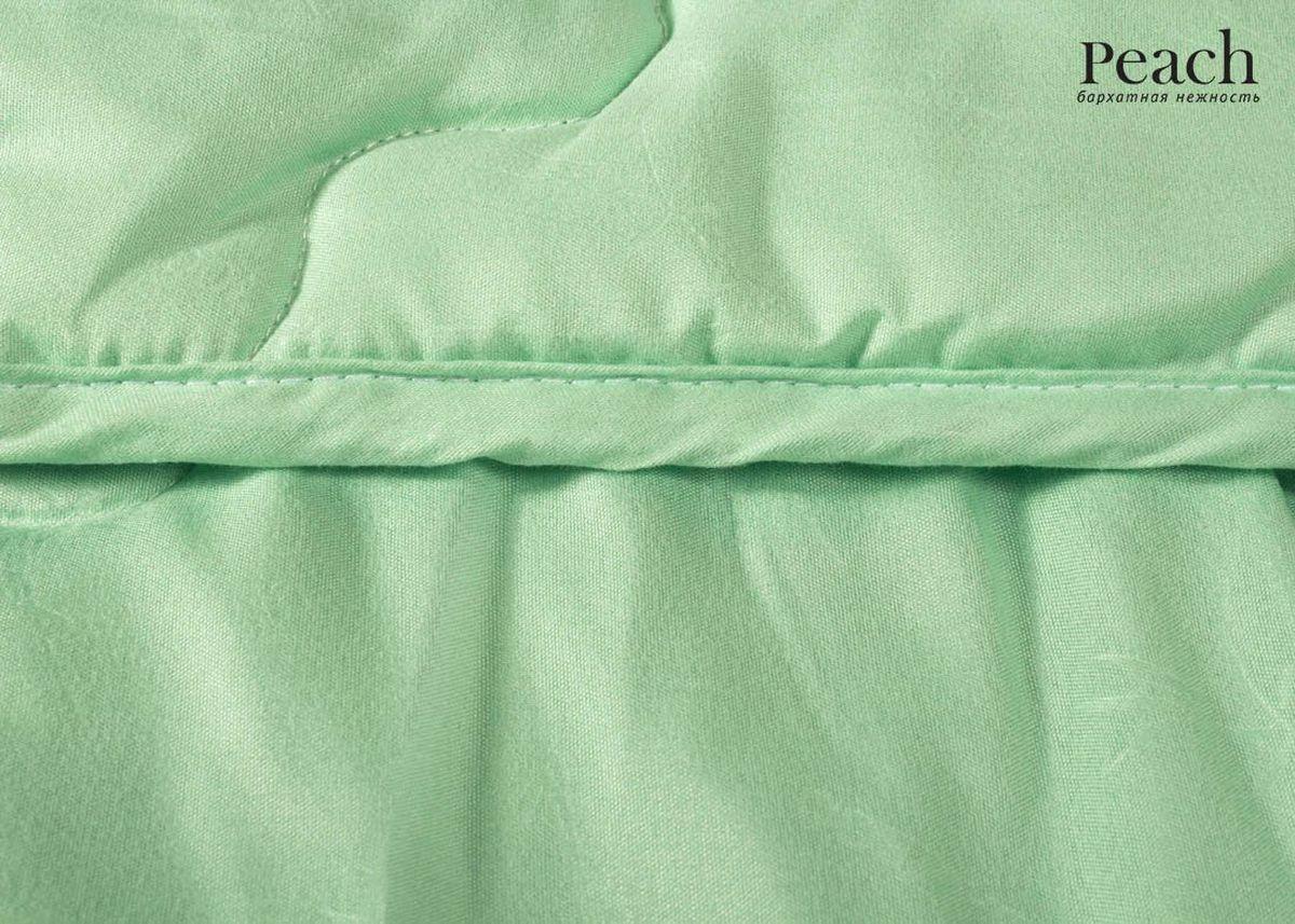 Одеяло Peach, из бамбукового волокна, легкое, 200х220 смpch222643Одеяло стеганое легкое двуспальное (евро) Размер: 200х220 см Наполнитель: Бамбуковое волокно Плотность наполнителя: 200 гр/м2 Состав: Бамбуковое волокно, Лебяжий пух Материал чехла: Микрофибра (PeachSOFT) Состав: 100% Полиэстер Отделка: Кант Производитель: Peach Страна производства: Россия Тип Упаковки: Чемодан ПВХ