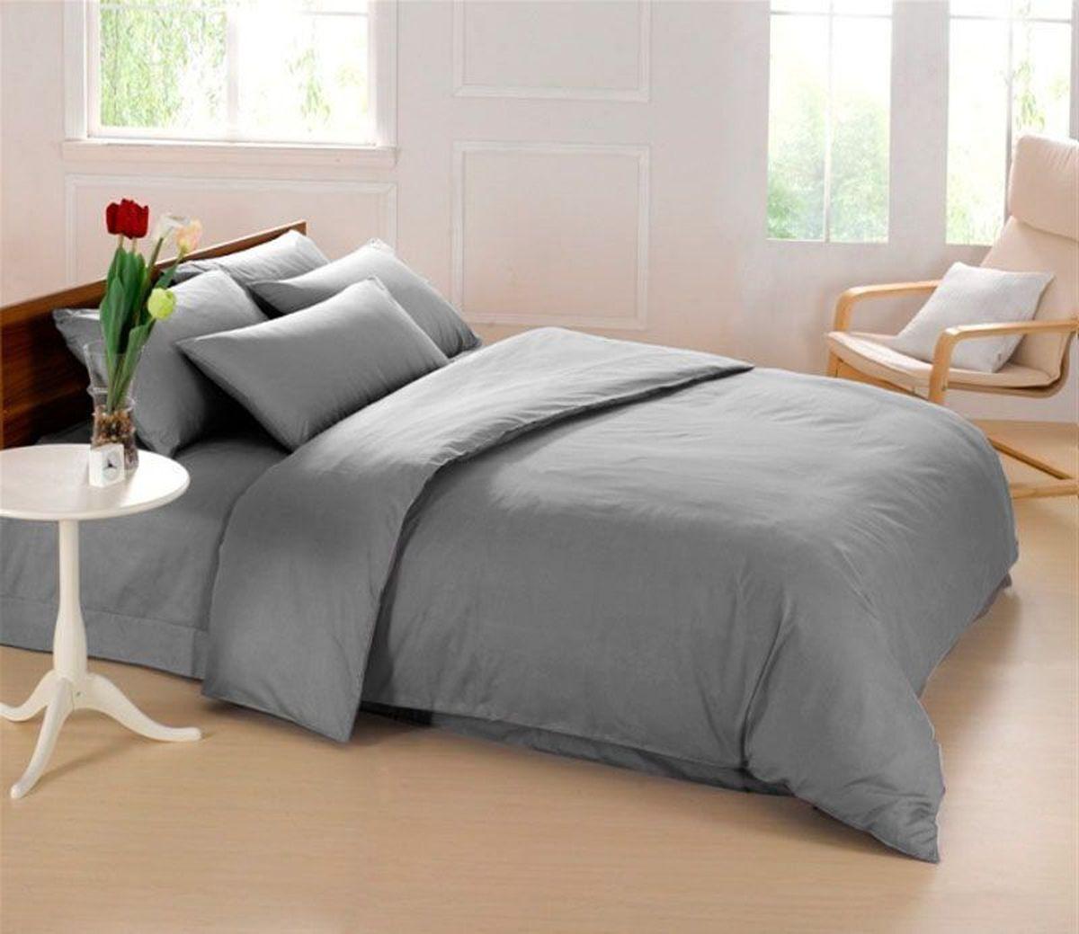 Постельное белье Sleep iX Perfection, семейный, цвет: серыйpva215432Известно, что цвет напрямую воздействует на психологическое и физическое состояние человека. Специально для наших покупателей мы внесли описание воздействия каждого цвета в комплекты постельного белья Perfection. Серый – нейтральный цвет. Расслабляет, помогает успокоиться и способствует здоровому сну. Усиливает воздействие соседствующих цветов. Производитель: Sleep iX Материал: Микрофреш (100 г/м2) Состав материала: 100% микрофибра Размер: Семейное (2 пододеял.) Размер пододеяльника: 150х220 см Тип застежки на пододеяльнике: Молния (100 см) Размер простыни: 220х240 (обычная) Размер наволочек: 50х70 и 70х70 (по 2 шт) Тип застежки на наволочках: Клапан (20 см) Упаковка комплекта: Подарочная Коробка Cтрана производства: Китай Расположение цветов на комплекте постельного белья полностью соответствует фотографии (верхние наволочки - 50х70 см, нижние наволочки - 70х70 см).