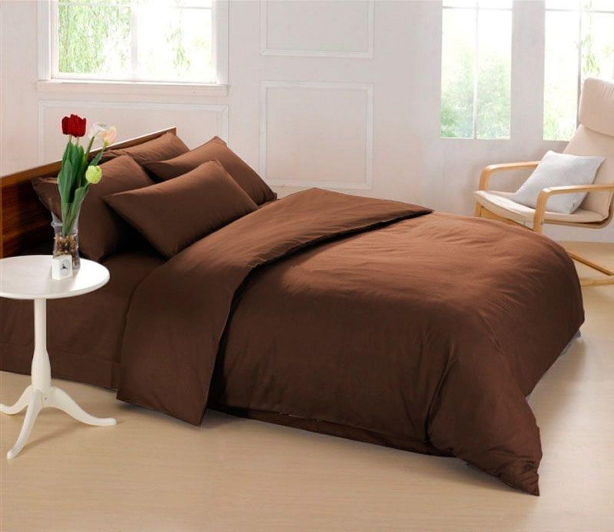 Постельное белье Sleep iX Perfection, семейный, цвет: темно-коричневыйpva215433Известно, что цвет напрямую воздействует на психологическое и физическое состояние человека. Специально для наших покупателей мы внесли описание воздействия каждого цвета в комплекты постельного белья Perfection. Коричневый - спокойный и сдержанный цвет. Вызывает ощущение тепла, способствует созданию спокойного мягкого настроения. Это цвет надежности, прочности, здравого смысла. Производитель: Sleep iX Материал: Микрофреш (100 г/м2) Состав материала: 100% микрофибра Размер: Семейное (2 пододеял.) Размер пододеяльника: 150х220 см Тип застежки на пододеяльнике: Молния (100 см) Размер простыни: 220х240 (обычная) Размер наволочек: 50х70 и 70х70 (по 2 шт) Тип застежки на наволочках: Клапан (20 см) Упаковка комплекта: Подарочная Коробка Cтрана производства: Китай Расположение цветов на комплекте постельного белья полностью соответствует фотографии (верхние наволочки - 50х70 см, нижние наволочки - 70х70 см).