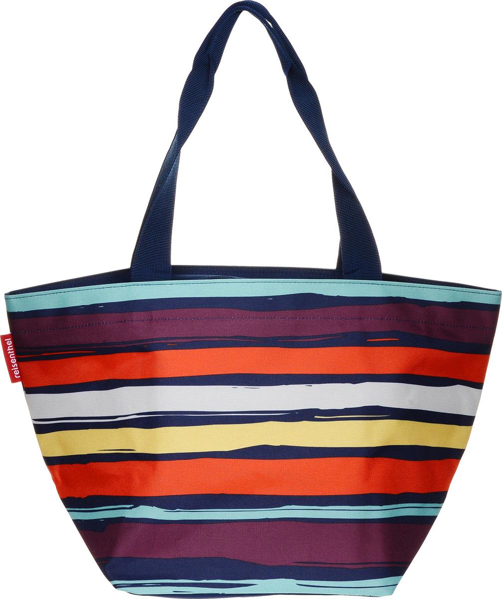 Сумка женская Shopper M Artist Stripes, цвет: мультиколор. ZS3058ZS3058Очень комфортная сумка для походов за продуктами и для повседневного использования: - широкие удобные лямки равномерно распределяют нагрузку на плече; - застегивается на молнию; - внутри предусмотрен кармашек на молнии для мелочей; - cпециальное широкое днище для большей вместимости; - объем – 15 литров.