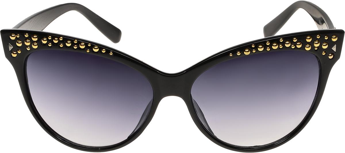 Очки солнцезащитные женские Vittorio Richi, цвет: черный. ОС1230с1/17fОС1230с1/17fОчки солнцезащитные Vittorio Richi это знаменитое итальянское качество и традиционно изысканный дизайн.