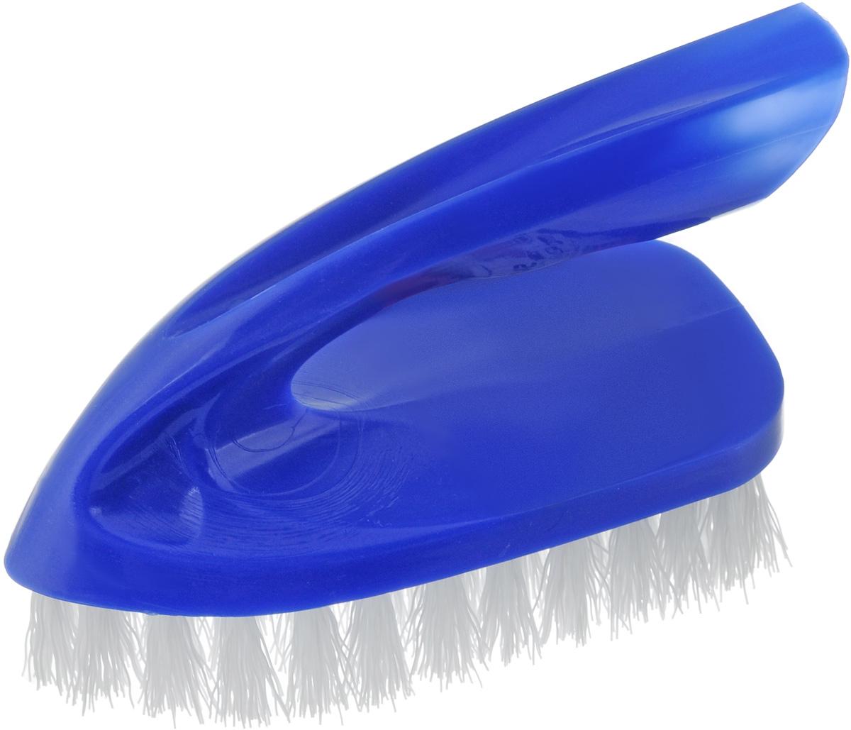 Щетка для одежды Svip Утюжок Макси. Классика, цвет: синий, 13 х 6 х 8,5 смSV3099СНЩетка Svip Утюжок Макси. Классика изготовлена из высокопрочного пластика и предназначена для удаления ворсинок, волос, пыли и шерсти животных, с различных поверхностей. Может использоваться для мягкой мебели и салона автомобиля. Ручка, расположенная сверху, сделана как у утюжка, обеспечивает удобство при работе с ней. Щетина средней жесткости не повреждает поверхность. Благодаря качественной щетине, щетка прослужит долгое время. Щетка Svip Утюжок Макси. Классика, станет незаменимым аксессуаром в вашем доме или автомобиле. Длина щетины: 2,5 см, Размер щетки: 13 х 6 х 8,5 см.