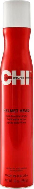 CHI Лак для волос CHI Голова в каске 284гр., шт.CHI0656Придает волосам максимальный блеск. Не склеивает волосы и не оставляет белого налета. Подходит для ежедневного применения. Рекомендуется для всех типов волос.