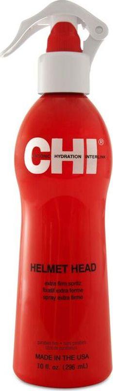 CHI Спрей CHI Голова в каске 296 мл.CHI0657Придает волосам максимальный блеск. Не склеивает волосы и не оставляет белого налета. Подходит для ежедневного применения. Рекомендуется для всех типов волос.