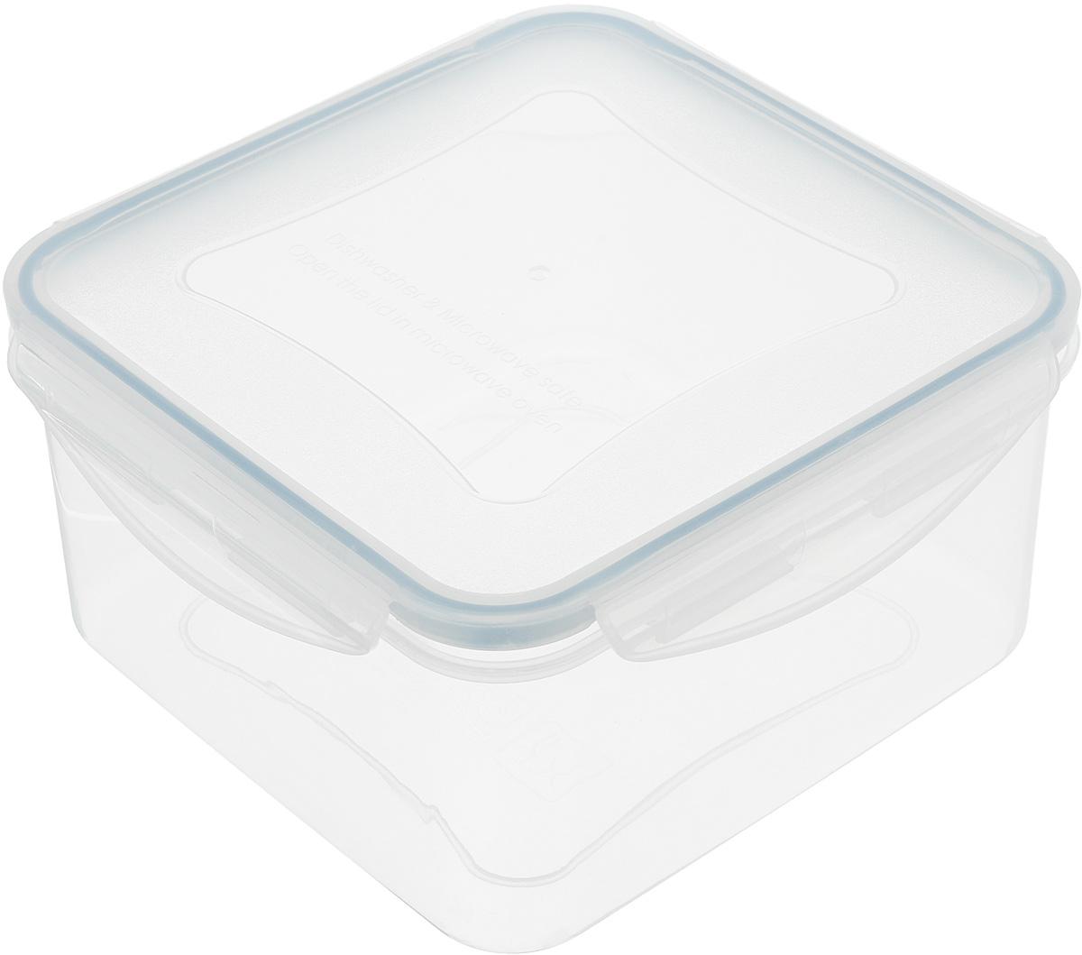 Контейнер Tescoma Freshbox, квадратный, 2 л892016Квадратный контейнер Tescoma Freshbox замечателен для хранения и переноски продуктов. Выполнен из высокопрочной жаростойкой пластмассы, которая выдерживает температуру от -18°С до +110°С. Контейнера снабжен воздухонепроницаемой и водонепроницаемой крышкой с силиконовой прокладкой, которая гарантирует герметичность. Продукты дольше сохраняют свежесть и аромат, а жидкие блюда не вытекают. Контейнер очень вместителен, он отлично подойдет для хранения пищи дома, а также для пикников и выездов на природу. Контейнер пригоден для использования в холодильнике, морозильной камере и микроволновой печи. Допускается мытье в посудомоечной машине. Размер контейнера: 18 х 18 х 9 см.