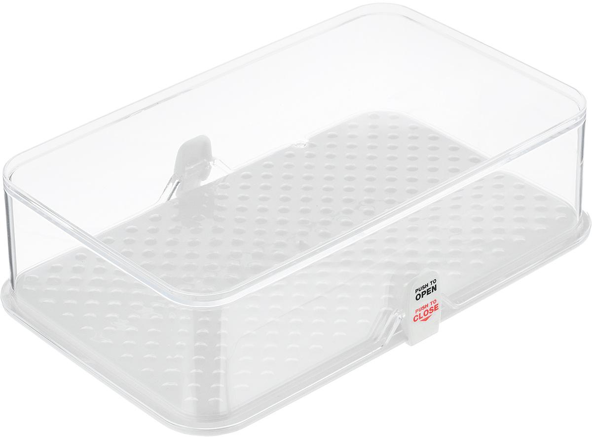 Kонтейнер для холодильника Tescoma Purity, 22 х 13,5 х 6 см891822Kонтейнер Tescoma Purity выполнен из высококачественного пищевого пластика, который используется в здравоохранении и фармацевтики. Изделие отлично подходит для гигиеничного хранения продуктов в холодильнике. Используемый материал не влияет на качество продуктов даже при длительном хранении. В комплекте имеются запасные замки-крылышки. Можно мыть в посудомоечной машине.