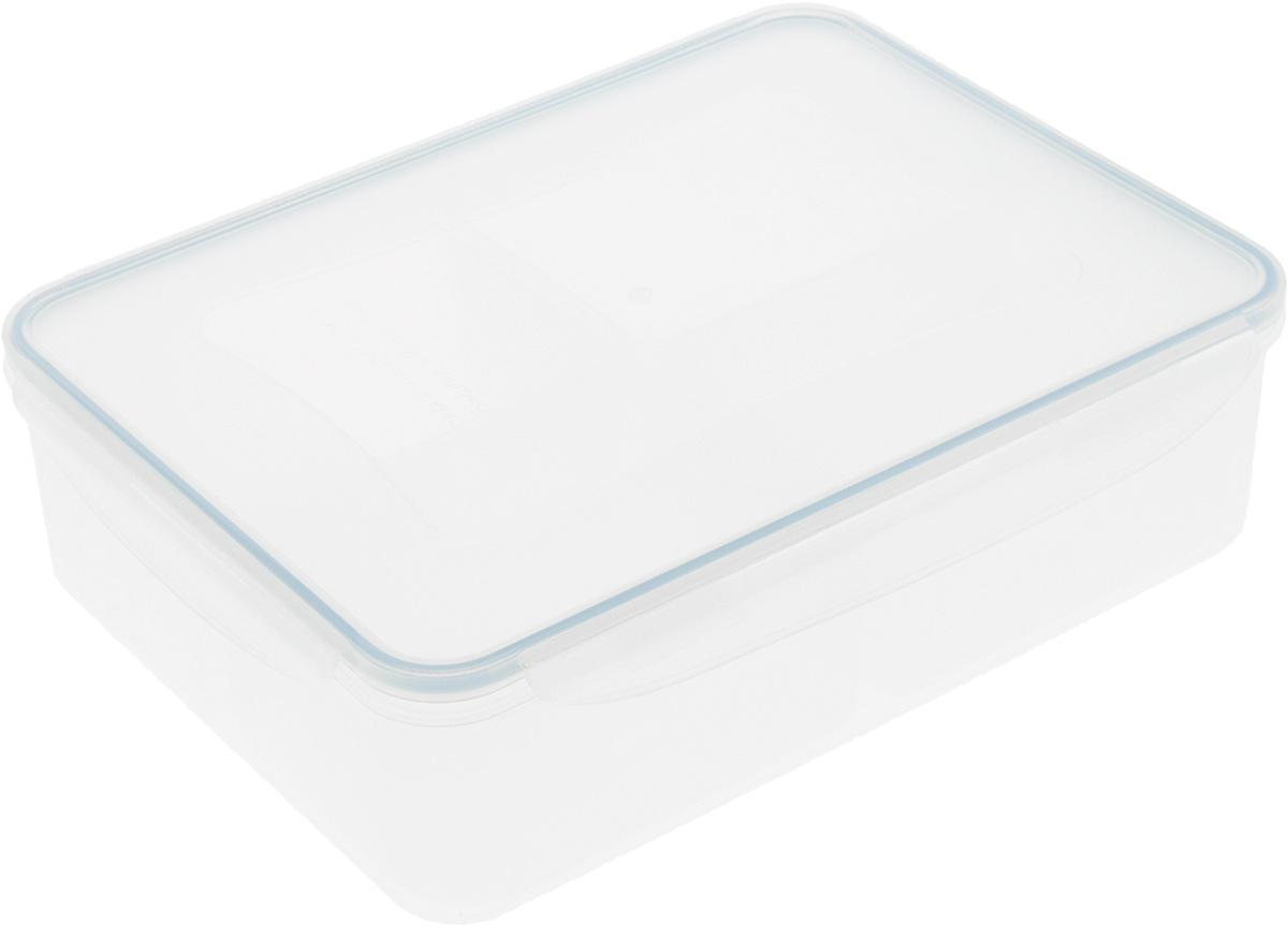 Контейнер Tescoma Freshbox, прямоугольный, 1,5 л892066Контейнер Tescoma Freshbox, изготовленный из прочного пластика, отлично подходит для хранения и разогрева блюд. Герметичная крышка имеет силиконовый уплотнитель, пища остается свежей дольше и не протекает при перевозке. Подходит для холодильника, морозильных камер, микроволновой печи и посудомоечной машины. Размер контейнера: 21 х 14 х 7 см.