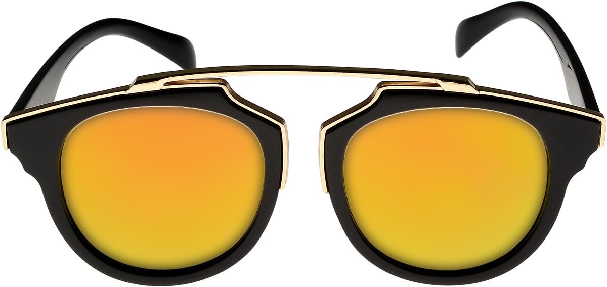 Очки солнцезащитные женские Vittorio Richi, цвет: черный, желтый. ОС9251с11/17fОС9251с11/17fОчки солнцезащитные Vittorio Richi это знаменитое итальянское качество и традиционно изысканный дизайн.