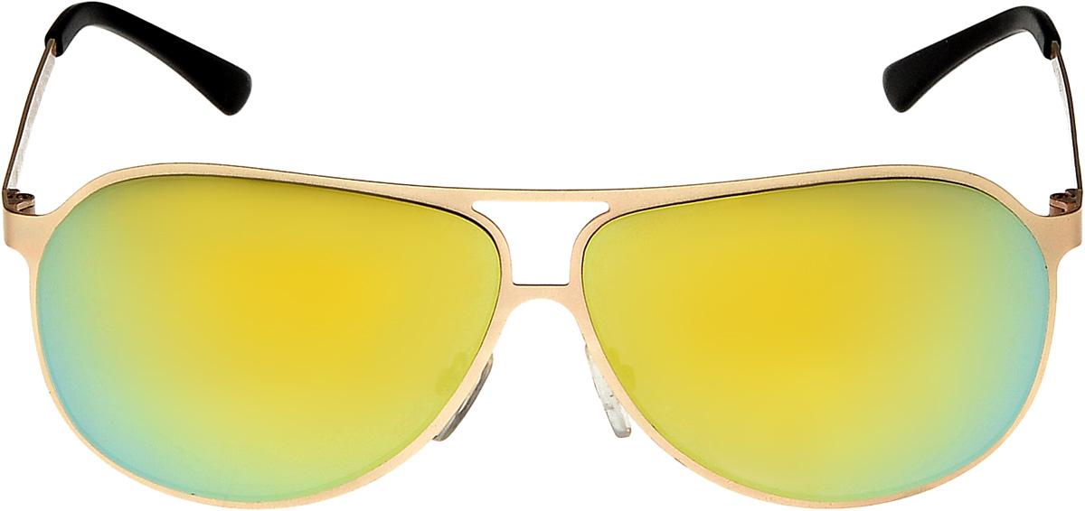 Очки солнцезащитные мужские Vita Pelle, цвет: золотистый, зеленый. ОС1003с1/17fОС1003с1/17fОчки солнцезащитные Vita Pelle это знаменитое итальянское качество и традиционно изысканный дизайн.