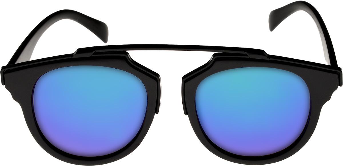 Очки солнцезащитные женские Vittorio Richi, цвет: черный, синий. ОС9251с16/17fОС9251с16/17fОчки солнцезащитные Vittorio Richi это знаменитое итальянское качество и традиционно изысканный дизайн.