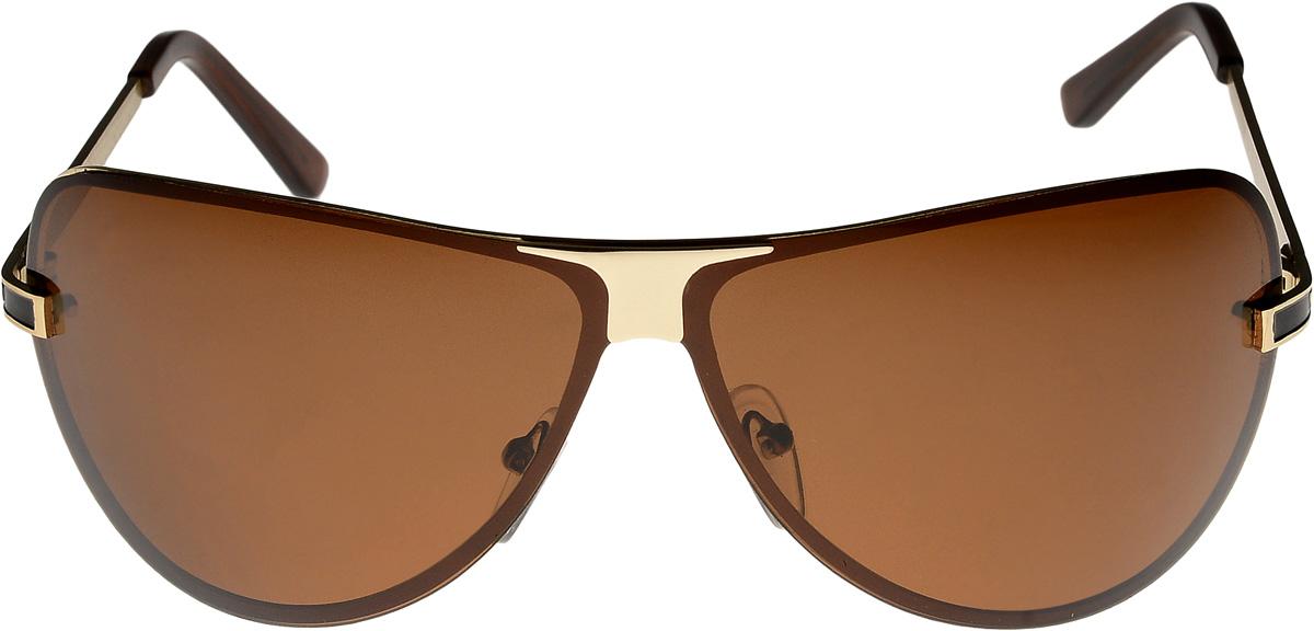 Очки солнцезащитные мужские Vittorio Richi, цвет: коричневый. ОС3858c05/17fОС3858c05/17fОчки солнцезащитные Vittorio Richi это знаменитое итальянское качество и традиционно изысканный дизайн.