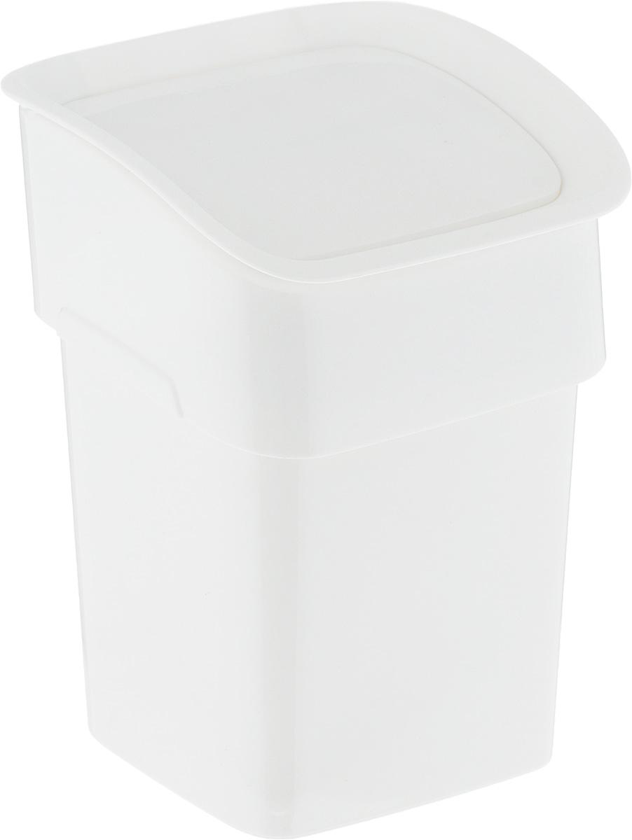 Контейнер для мусора Tescoma Clean. Kit, настольный, цвет: белый, 2,4 л900682Контейнер для мусора Tescoma Clean. Kit изготовлен из высококачественного прочного пластика. Такой аксессуар очень удобен в использовании как дома, так и в офисе. Контейнер снабжен удобной крышкой с подвижной перегородкой. Стильный дизайн сделает его прекрасным украшением интерьера. Можно мыть в посудомоечной машине.