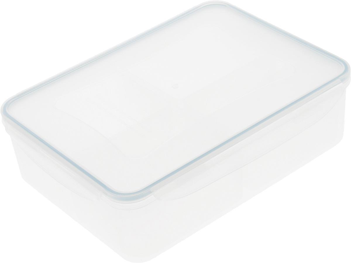 Контейнер Tescoma Freshbox, с мисками, 3,7 л892070Контейнер Tescoma Freshbox, изготовленный из прочного пластика, отлично подходит для хранения и разогрева блюд. Герметичная крышка имеет силиконовый уплотнитель, пища остается свежей дольше и не протекает при перевозке. В комплекте с контейнером прилагаются 4 миски. Они предназначены для раздельного хранения различных блюд в одном контейнере. Подходят для холодильника, морозильных камер, микроволновой печи и посудомоечной машины. Размер контейнера (с учетом крышки): 29,5 х 22 х 8,5 см. Размер миски: 16,5 х 10 х 6,2 см.